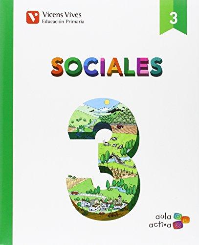 SOCIALES 3 + CASTILLA-LA MANCHA SEP (AULA ACTIVA): 000002-9788468220611
