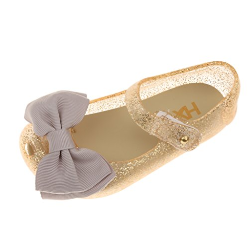 Footful Girl's Gold Fashion Sandal - 29