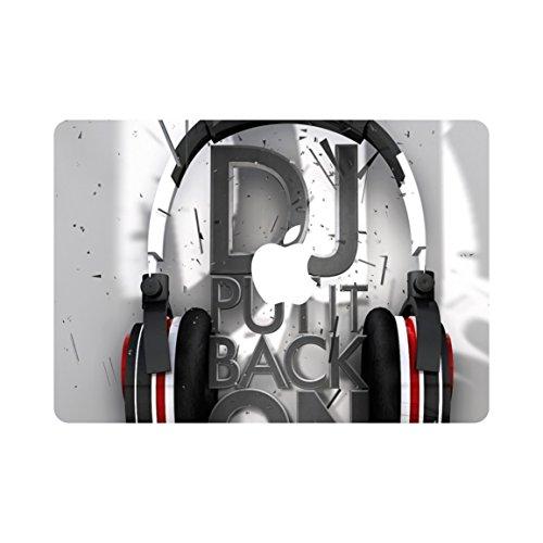 kikhorse Headset Kollektion Hochwertige Hartschale Ultra Dünn Snap Case Schutzhülle Für MacBook Pro 13 Zoll - mit CD-Laufwerk (Modelle: A1278) (DJ) (Halloween Snap Apple)