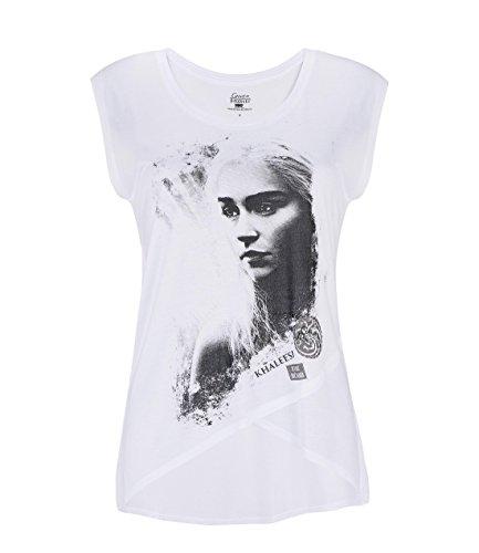 Weiß Aufdruck Damen Game Of Thrones I/'M Not A Prinzessin I/'M Khaleesi T-Shirt