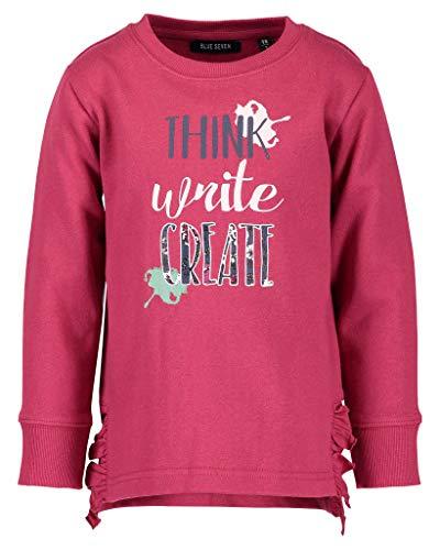 Blue Seven Mädchen Sweatshirt Vd-764545 X, Pink (Magenta 436), 92