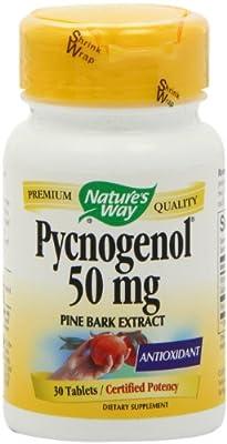 Natures Way Pycnogenol, 30 Tabs, 50 Mg