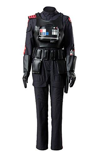 Imperialen Offizier Einen Kostüm - Star Wars Battlefront 2 II IDEN Versio Inferno Squad Kaiserliche Soldat Offizier Cosplay Kostüm Herren M