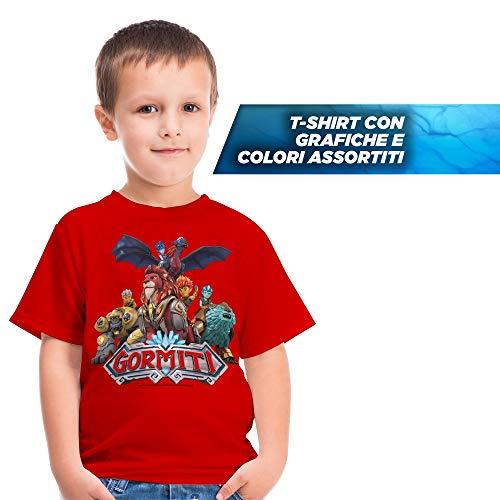 Giochi Preziosi Gormiti T - Camiseta talla 3/4 años, colores surtidos