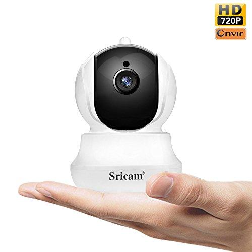 Galleria fotografica Sricam SP020 Telecamera di Sorveglianza Wireless 720P HD IP Camera Wifi Ruotabile Notturna a Infrarossi Audio Bidirezionale Controllo Remoto e Email allarm Compatibile con iOS /Android/Windows PC