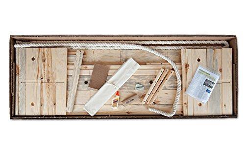 Build-Your-Own Simple caja de pino Kit-fabricada en madera de pino sostenible de enterramiento de bosques del norte de Wisconsin-adecuado para cualquier tipo de cementerio, Natural, O Cenizas-Caja de madera-Madera ataúd
