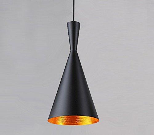 Retro Industrie Hängeleuchte Pendelleuchte Art Deco Simplicity Design E27 Fassung für Esstisch, Schlafzimmer,Kaffee-Bar,Leseraum Beleuchtung