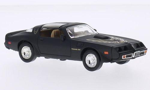 pontiac-firebird-trans-am-matt-schwarz-dekor-1979-modellauto-fertigmodell-lucky-die-cast-143