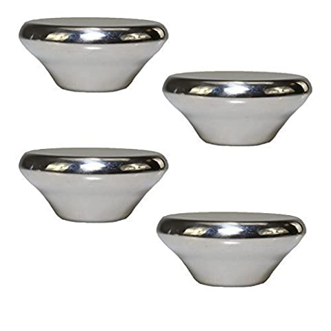 First4Spares Knob Handle for Le'creuset Cookware, Lids and Pans (Pack of 4)