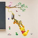 RC-Angel Wand-Aufkleber, Schlafzimmer, Kinderzimmer, Kinder Winnie the Pooh Kinder Tapete Aufkleber-entfernbare Wand-Aufkleber-Abziehbilder (WINNIE 1)