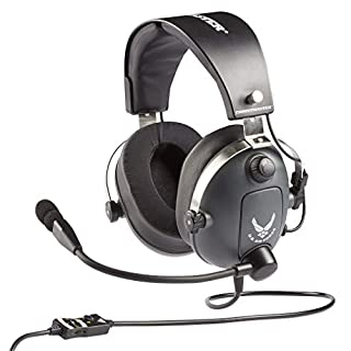 Thrustmaster T.Flight U.S. Air Force Edition (Gaming-Headset, 50mm Treiber, abn. Richtmikrofon, Memoryschaum m. Gelkissen, PS4 / Xbox One / PC)