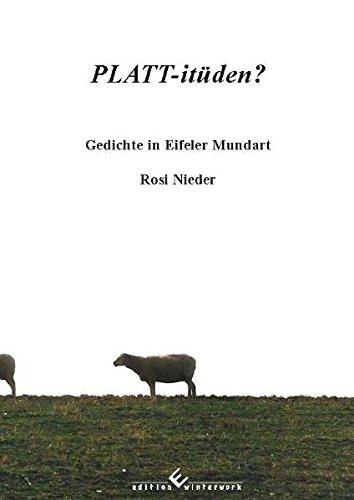Free Platt Itüden Gedichte In Eifeler Mundart Pdf Download