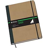 Dohe Vesta Nature - Cuaderno liso, A4 color