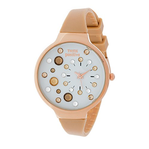 ladies-think-positiver-modell-se-w87-medium-rose-stahlband-aus-silikon-farbe-beige