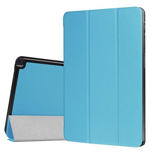 Custodia per Samsung Galaxy Tab A 10.1con S Pen, UCMDA Premium sottile leggero pieghevole supporto Smart Cover in pelle con chiusura magnetica per Samsung Galaxy Tab A 10.1Inch sm-p580/sm-p585