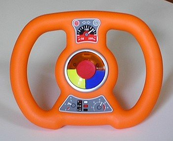 BIG Bobby-Car Soundlenkrad Orange Sound Wheel