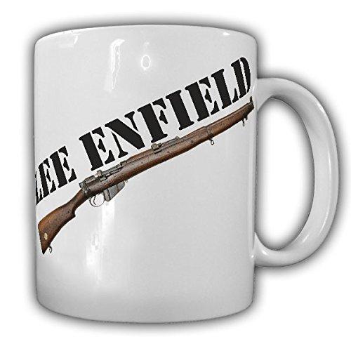 Lee Enfield ordonnanz fucile Short Magazine Rifle Regno Unito James Paris Lee fucile British India Deko-Tazza di Caffè Tazza # 16386