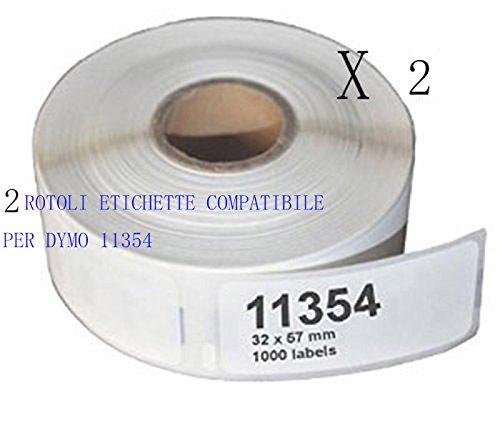 330//330 Series 10 Rotoli Etichette adesive compatibile per DYMO 11353 S0722530 25mm X 13mm Dymo LABELWRITER 310//320 330 Turbo