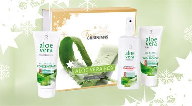 LR Aloe Vera Box (100 ml Propolis-Creme, 100 ml Konzentrat, 150 ml Emergency Spray)