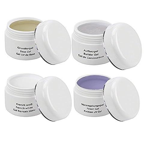 UV Classic Gel Kit -Test Kit - 4 x 30 ml