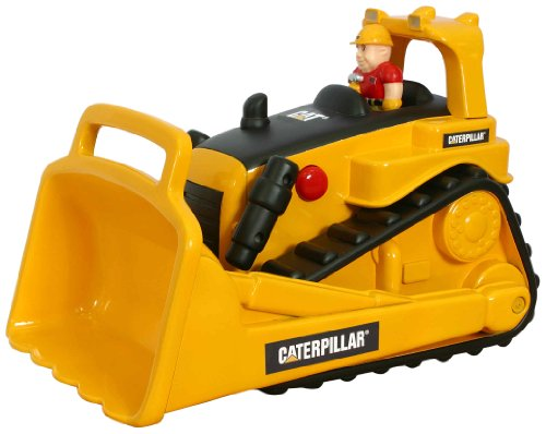 Toy State Caterpillar Construction Big Movin' Rumbler Bull Dozer With Figure by MPA