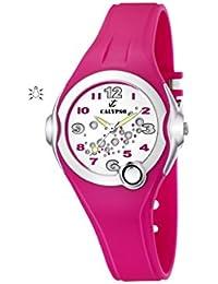 Calypso watches - K5562/3 - Montre Fille - Quartz Analogique - Bracelet Caoutchouc Rose