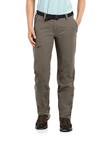 maier sports Damen Outdoor Hose Lulaka, Teak, 19, 232001