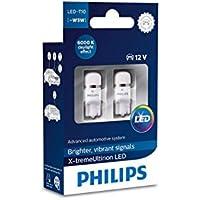 Philips 127996000KX2 X-tremeVision LED W5W T10 6000K CeraLight, Set of 2