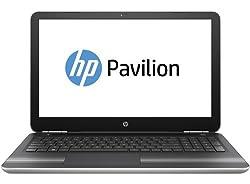 HP Pavilion 15-au620TX 15.6-inch Laptop (Core i5-7200U/8GB/1TB/Windows 10 Home/MS Office/2GB Graphics), Natural Silver