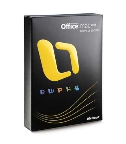 Office Mac Business Edition 2008 (2008 Office)