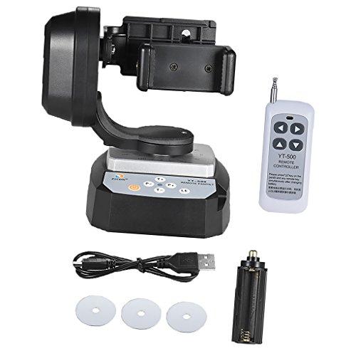 MagiDeal Motorisierter Fernsteuerungsneigungs Schwenkkopf Drehkopf der Stabilisator für Telefon mit Kamera-Werkzeugen