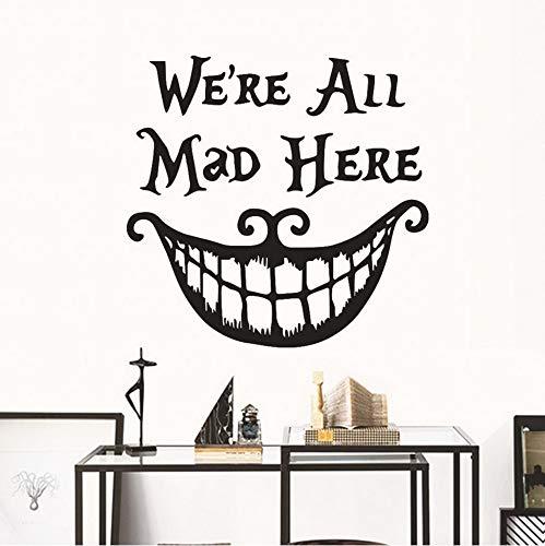 Qscwdv Personalisierte Brief Muster Halloween Wandaufkleber Hintergrund Home Decoration Abnehmbare Wandaufkleber Kunst Aufkleber