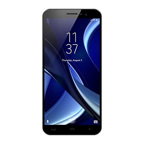 Smartphones Telefono Moviles Libres Baratos, BeautyTop HOMTOM S16 5.5'' Ultradelgada Android7.0 Quad-core 2GB+16GB 3G WiFi Bluetooth Cámara dual trasera HD Mobile Telefoon (Negro, 5.5'')