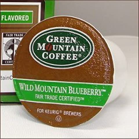 Green Mountain Coffee WILD MOUNTAIN BLUEBERRY 72 K-Cups for all Keurig Brewing Systems by Green Mountain Coffee