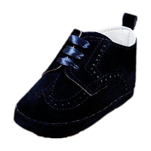 Babyschuhe für Jungen festliche Taufschuhe dunkelblau Schnürer Modell 4143-db Gr. 19