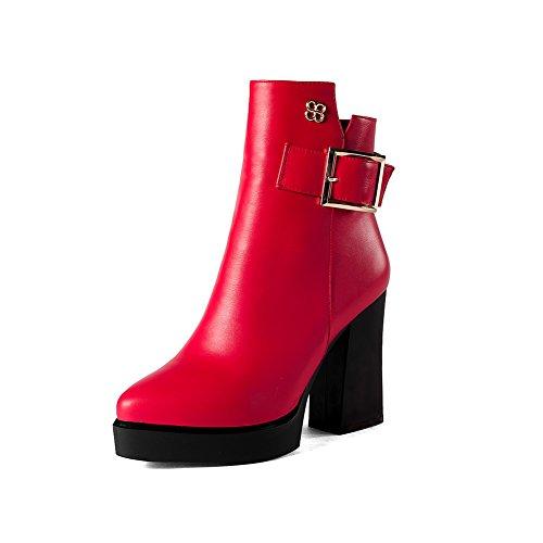 Balamasa - Bottes Chukka Pour Femmes Rouges