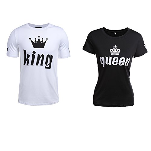 Pärchen T-Shirts kaufen – King Queen T-Shirt Set kaufen – Für Paare König Königin T-Shirt kaufen – Jubiläumsgeschenk Geburtstagsgeschenk geschenk für paare Pärchen T-Shirts kaufen – King Queen T-Shirt Set kaufen – Für Paare König Königin T-Shirt kaufen – Jubiläumsgeschenk Geburtstagsgeschenk 417gwH9BpBL