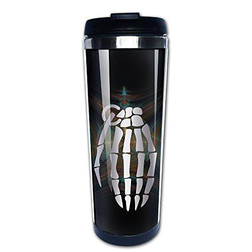 Stainless Steel Hand Grenade Platinum Style Tumbler Coffee Mug(Tazzine da caffè)