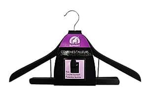 ELEPHANT Cintre Noir Costumes et Tailleurs - Lot de 3