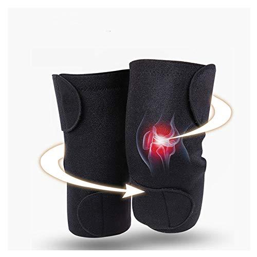 Genouillère auto-échauffante magnétothérapie santé sport chaud genouillères sport sécurité soutien, genou soutien articulation douleur arthrite genou joint masseur