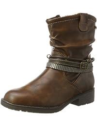 Indigo Mädchen 462 146 Combat Boots, Braun (Cognac), 37 EU