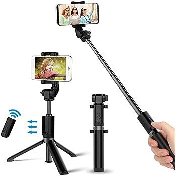 [8 en 1] Perche Selfie, Wineecy Selfie stick sans fil
