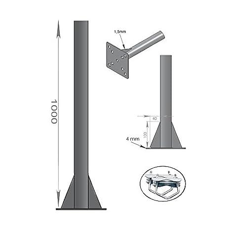 Support Mat Antenne - FIXATION BALCON SOL PLAFOND - ANTENNE ET