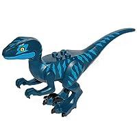 LEGO Movie 2 Dark Blue Velociraptor Dinosaur Minifigure Split from 70826 Set (Bagged)