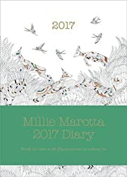 Millie Marotta 2017 Diary: Featuring Illustrations from Wild Savannah by Millie Marotta (2016-08-25)