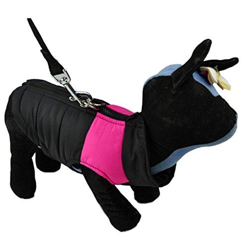 Größer Hundemantel wasserdicht Winterjacke Hundebekleidung Hundejacke Wintermantel Regenmantel - 5