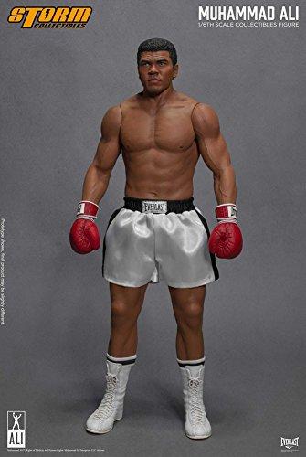 Muhammad Ali Action Figure 1/6 Muhammad Ali The Greatest 33 cm Storm figures (Boxing Everlast Robe)