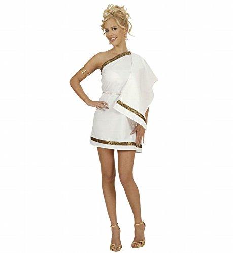 Widmann 77102 - Erwachsenenkostüm Griechische Göttin, Kleid mit Schultertuch und Gürtel, Größe M (Göttin Athena-kostüme Griechische)