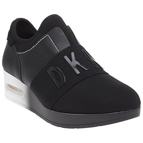 DKNY Arnold Slip on Wedge Femme Baskets Mode Noir