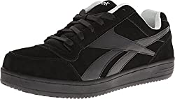 Reebok Work Men s Soyay RB1910 Skate Style EH Safety Shoe Black 11.5 D(M) US